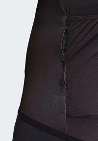 adidas Performance - ADISTAR PRIDE JERSEY - T-Shirt print - black - 8