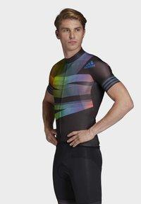 adidas Performance - ADISTAR PRIDE JERSEY - T-Shirt print - black - 3