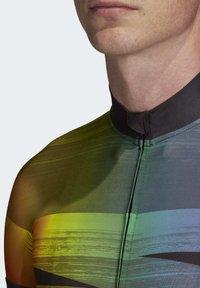 adidas Performance - ADISTAR PRIDE JERSEY - T-Shirt print - black - 6