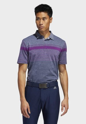 ULTIMATE365 ENGINEERED HEATHERED POLO SHIRT - T-shirt de sport - purple