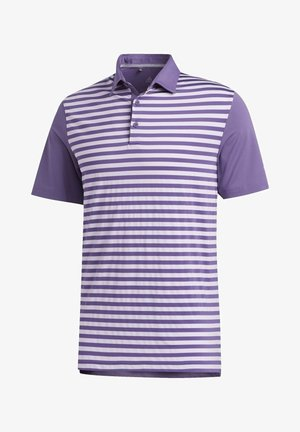 ULTIMATE365 STRIPE POLO SHIRT - Sportshirt - purple