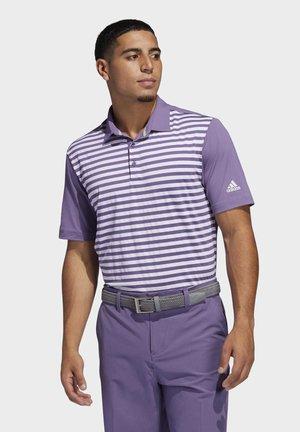 ULTIMATE365 STRIPE POLO SHIRT - Sports shirt - purple