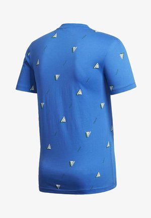MUST HAVES GRAPHIC T-SHIRT - Print T-shirt - blue