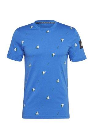 MUST HAVES GRAPHIC T-SHIRT - T-shirt z nadrukiem - blue