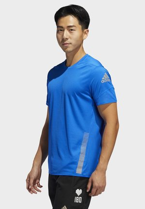 25/7 RISE UP N RUN PARLEY T-SHIRT - Printtipaita - blue