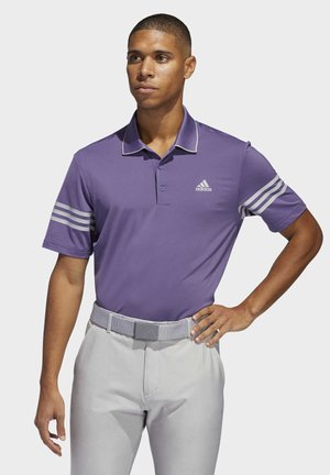 ULTIMATE365 BLOCKED POLO SHIRT - Poloshirt - purple