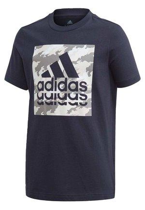GRAPHIC T-SHIRT - T-shirt print - blue