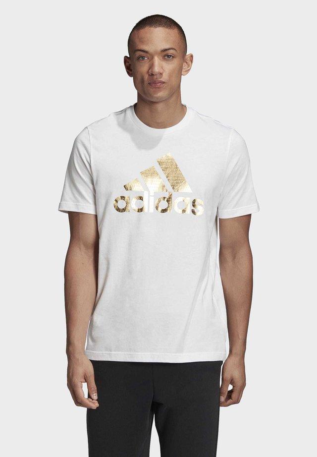 ADIDAS ATHLETICS GRAPHIC T-SHIRT - T-shirt con stampa - white