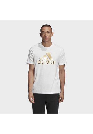 ADIDAS ATHLETICS GRAPHIC T-SHIRT - T-shirt con stampa - white