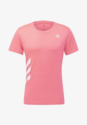 RUN IT 3-STRIPES PB T-SHIRT - T-shirt imprimé - pink