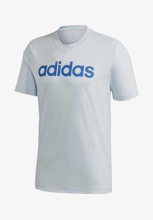 ESSENTIALS LINEAR LOGO T-SHIRT - T-shirt imprimé - blue