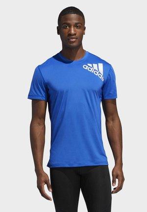 ALPHASKIN 2.0 SPORT FITTED T-SHIRT - T-shirt med print - blue