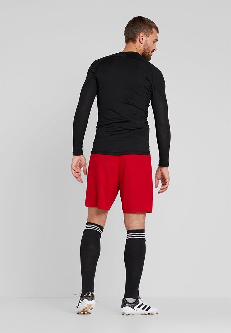 Adidas Performance Parma Primegreen Football 1/4 Shorts - Pantaloncini Sportivi Power Red/white Vv02d