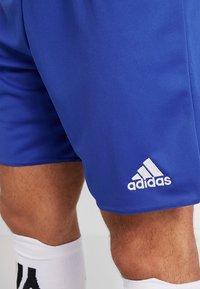 adidas Performance - PARMA 16 - Sportovní kraťasy - bold blue/white - 5