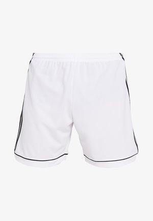 SQUADRA 17 SHORTS - Sports shorts - white/black