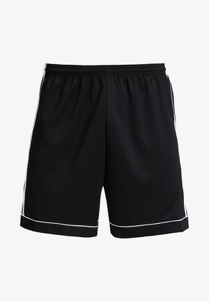 SQUADRA CLIMALITE FOOTBALL 1/4 SHORTS - Krótkie spodenki sportowe - black/white