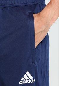adidas Performance - TIRO17  - Tracksuit bottoms - dark blue/white - 2