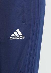 adidas Performance - TIRO17  - Tracksuit bottoms - dark blue/white - 5