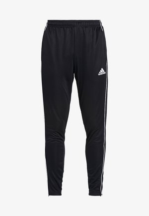 CORE 18 - Tracksuit bottoms - black/white