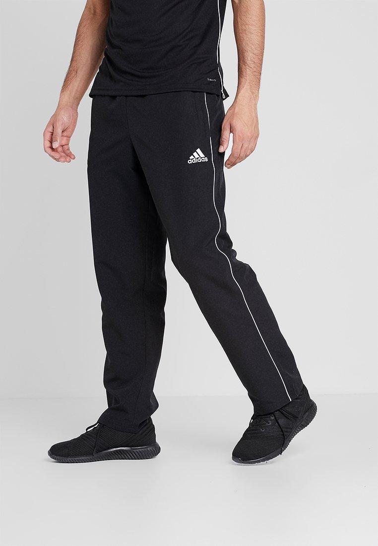 adidas Performance - CORE - Tracksuit bottoms - black/white