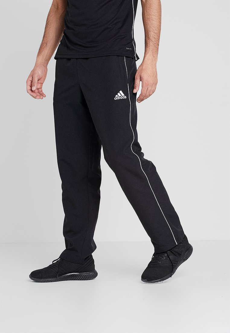 adidas Performance - CORE 18 - Tracksuit bottoms - black/white