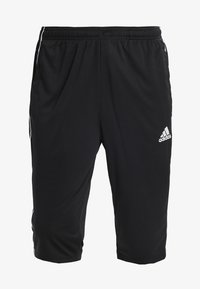 adidas Performance - CORE 18 3/4 PANT - Träningsshorts 3/4-längd - black/white - 3