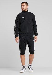 adidas Performance - CORE 18 3/4 PANT - Träningsshorts 3/4-längd - black/white - 1