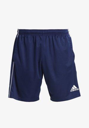 CORE ELEVEN PRIMEGREEN FOOTBALL 1/4 SHORTS - Korte sportsbukser - dark blue/white