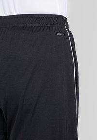 adidas Performance - CORE - Sportovní kraťasy - black/white - 3