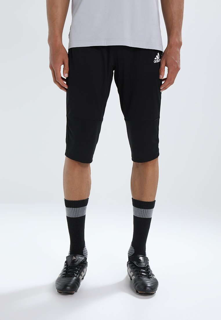 adidas Performance - CONDIVO 18 3/4 PANTS - 3/4 sports trousers - black/white