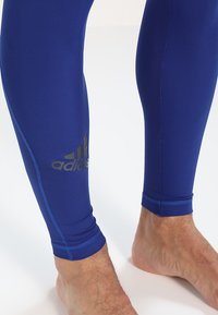 adidas Performance - ALPHASKIN - Leggings - mystery ink - 5