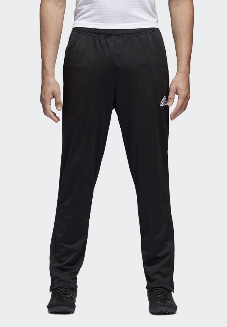 adidas Performance - CONDIVO 18 TRACKSUIT BOTTOMS - Träningsbyxor - black/white