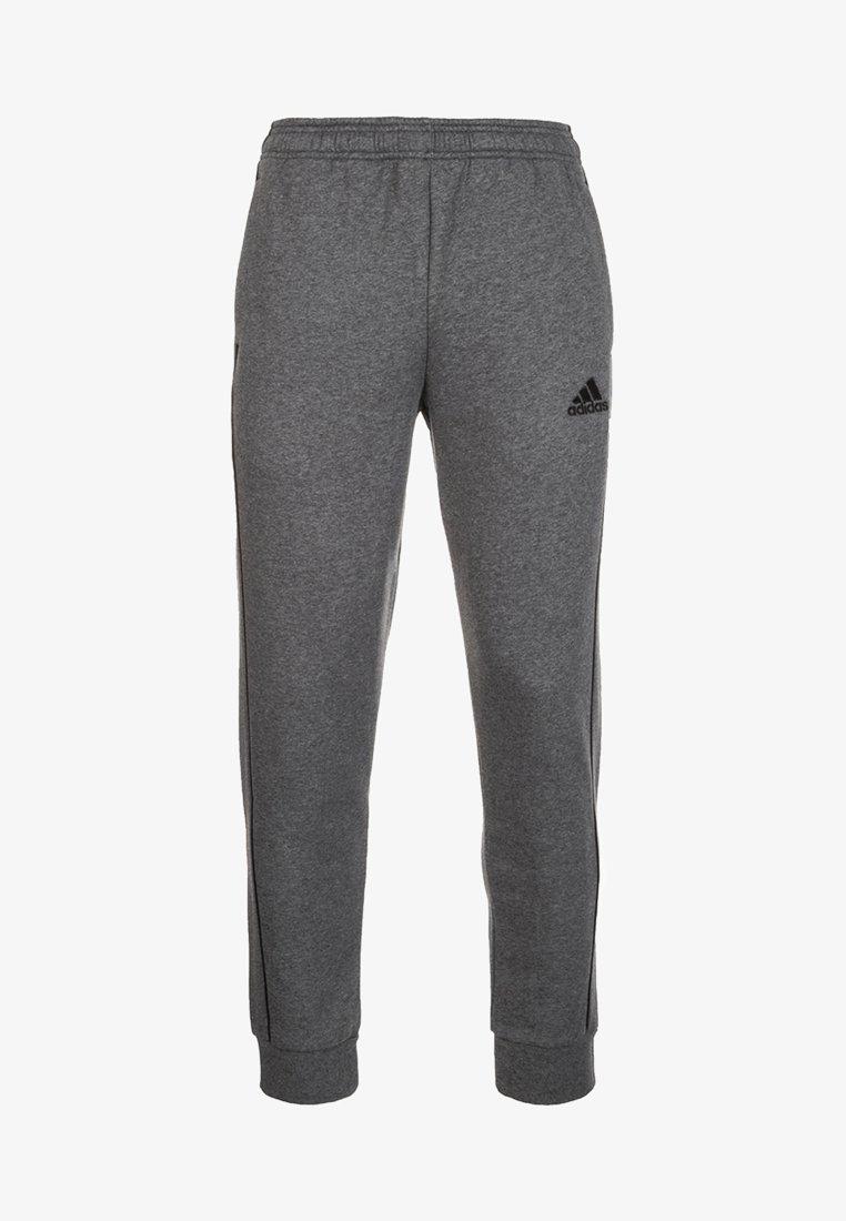 adidas Performance - CORE 18  - Pantalon de survêtement - dark grey/white