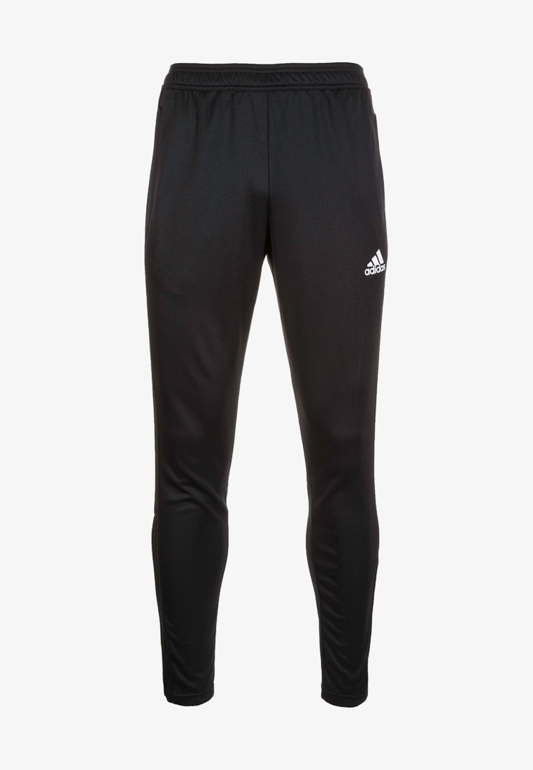 adidas Performance - CONDIVO - Tracksuit bottoms - black/white