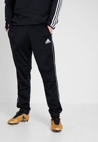 adidas Performance - CORE HERREN - Joggebukse - black - 0
