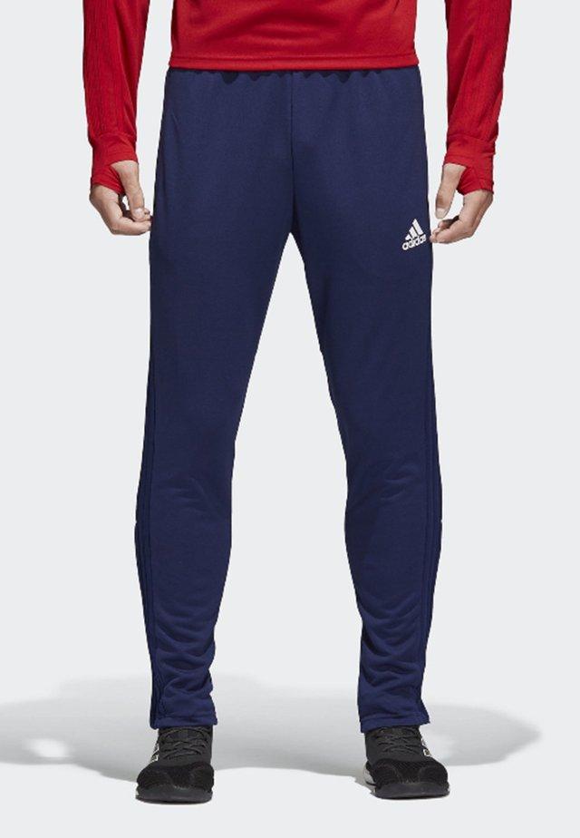 CONDIVO 18 TRAINING TRACKSUIT BOTTOMS - Pantalones deportivos - dark blue/white