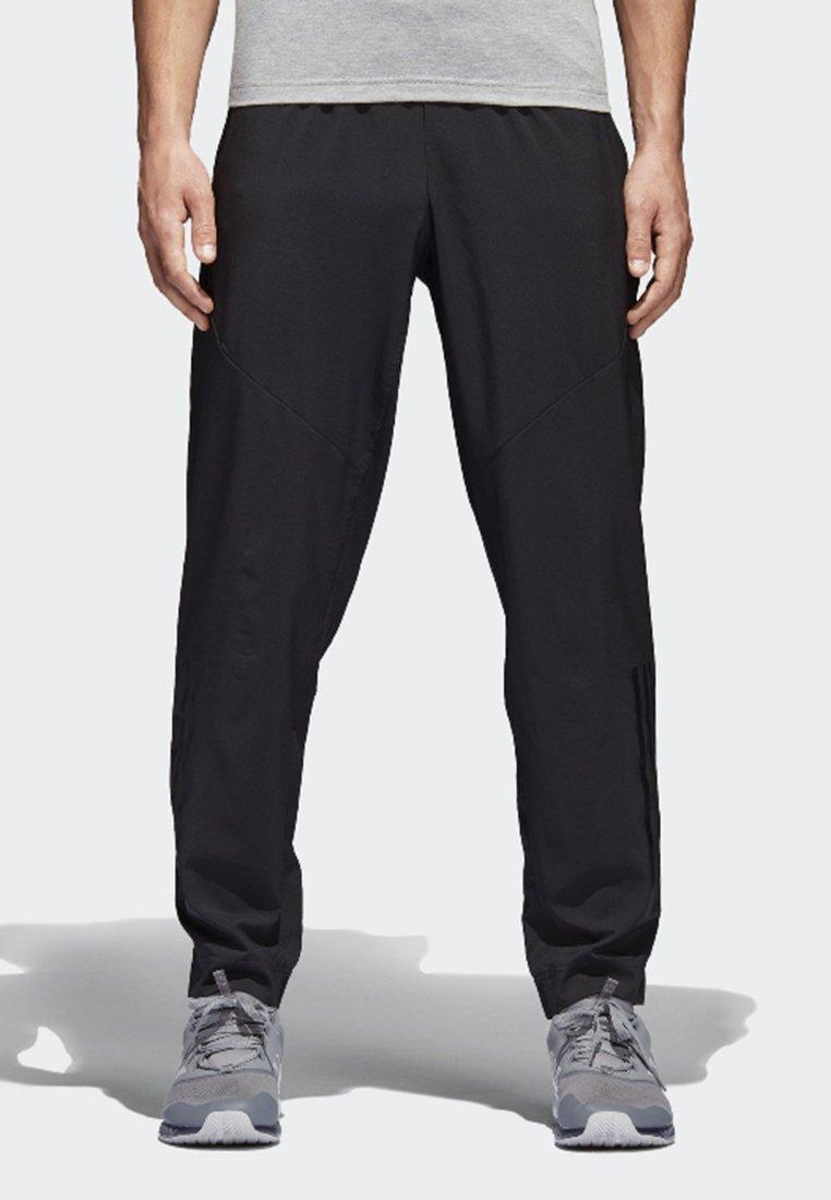 adidas Performance - CLIMACOOL WORKOUT JOGGERS - Verryttelyhousut - black