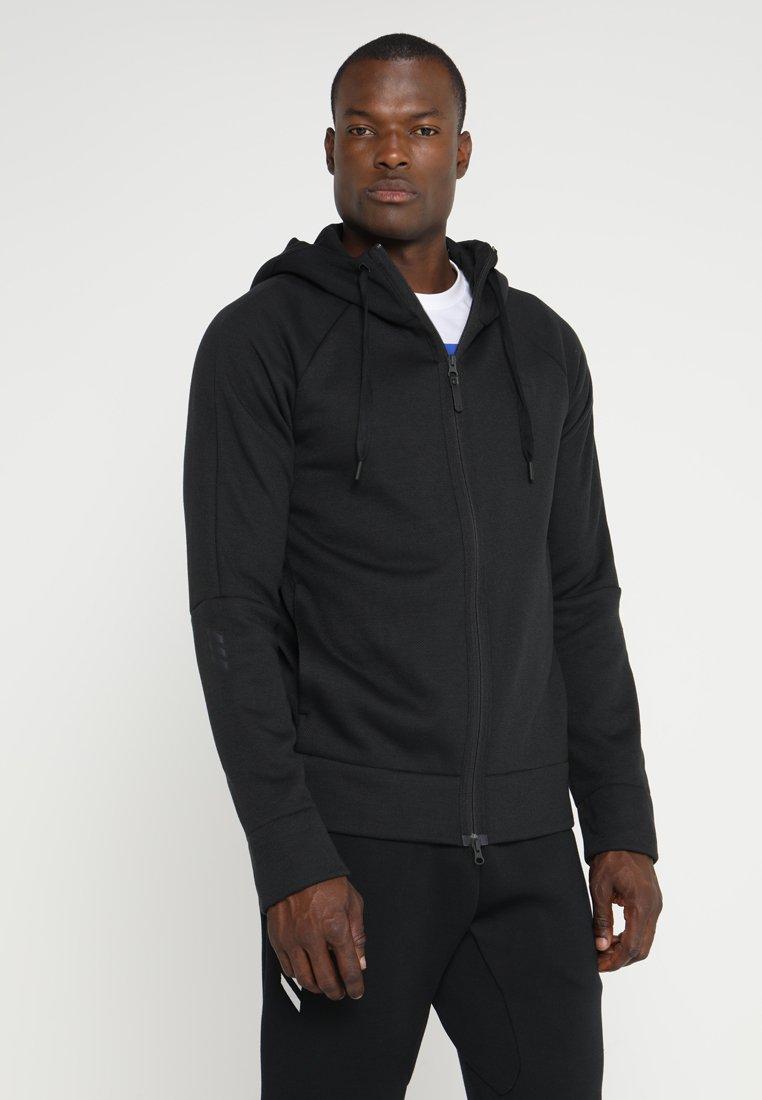 adidas Performance - Zip-up hoodie - black