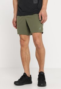 adidas Performance - SUPERNOVA SHORT - Sports shorts - khaki - 0
