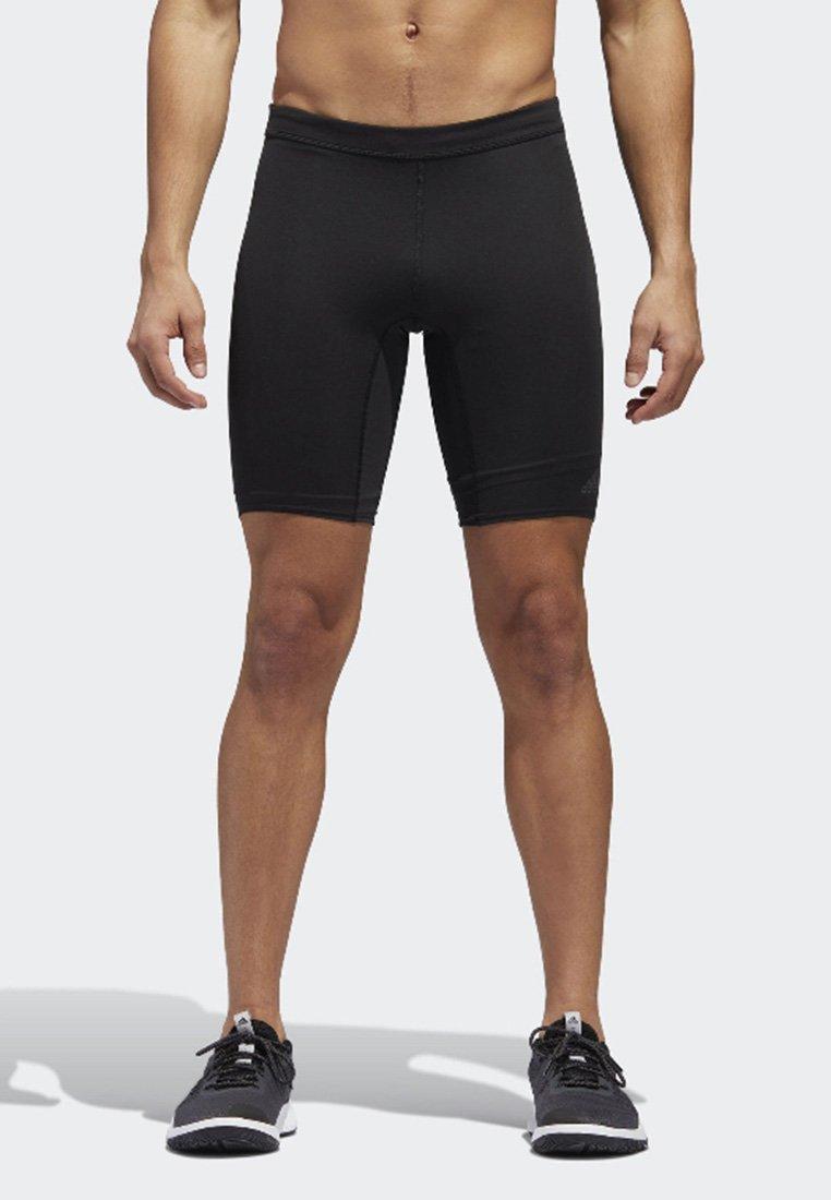 adidas Performance - SUPERNOVA TIGHTS - Tights - black