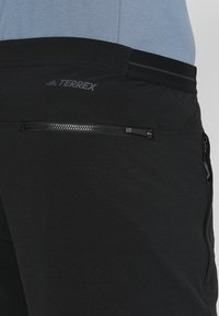 adidas Performance - TERREX LITEFLEX HIKING - Friluftsshorts - black - 5