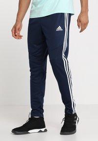 adidas Performance - TANGO AEROREADY CLIMACOOL FOOTBALL PANTS - Tracksuit bottoms - collegiate navy - 0