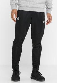 adidas Performance - TANGO AEROREADY CLIMACOOL FOOTBALL PANTS - Teplákové kalhoty - black - 0