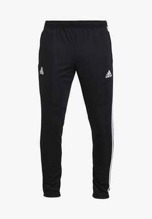 TAN PANT - Verryttelyhousut - black/white