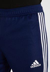 adidas Performance - TIRO AEROREADY CLIMACOOL FOOTBALL PANTS - Tracksuit bottoms - dark blue/white - 3