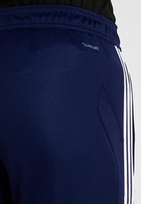 adidas Performance - TIRO AEROREADY CLIMACOOL FOOTBALL PANTS - Tracksuit bottoms - dark blue/white - 5