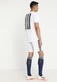 adidas Performance - TAN - Sportovní kraťasy - white - 2