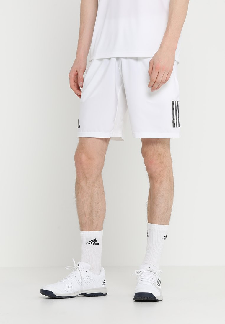 adidas Performance - CLUB SHORT - Pantaloncini sportivi - white/black