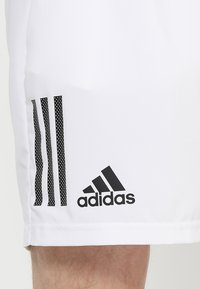 adidas Performance - CLUB SHORT - Pantaloncini sportivi - white/black - 5