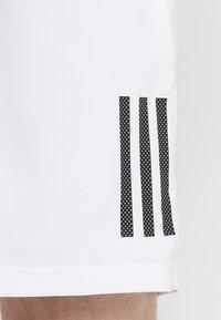 adidas Performance - CLUB SHORT - Pantaloncini sportivi - white/black - 3